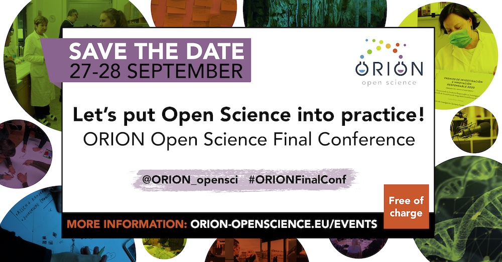 Save the date ORION final conference